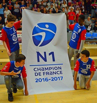Le titre de champion de France N1 pour le SMV qui bat Nice 28-22