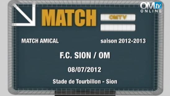 REPLAY MATCH SION 1 - 1 OM