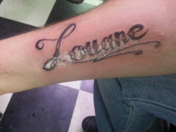 Voilà mon tatouage