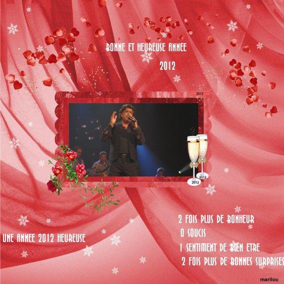 BONNE ANNEE 2012 A TOUS LES AMIS DE MON BLOG