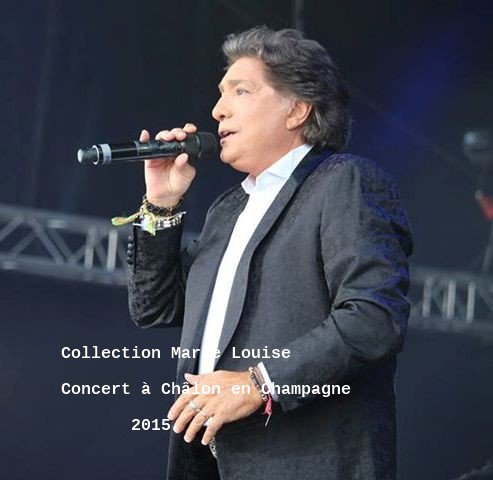 Concert en plein air de Frédo à Châlon en Champagne(septembre 2015)