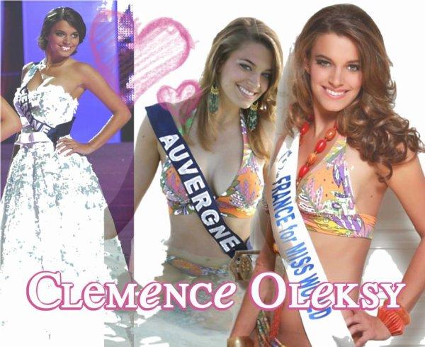 Interview de Clémence Oleksy, Miss Auvergne 2010, 2eme dauphine de Miss France 2011, Participante à Miss Monde 2011