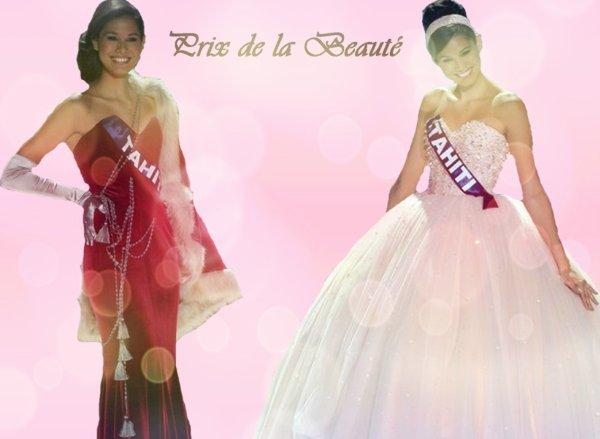 Les Prix de l'élection de la Miss du blog 2014
