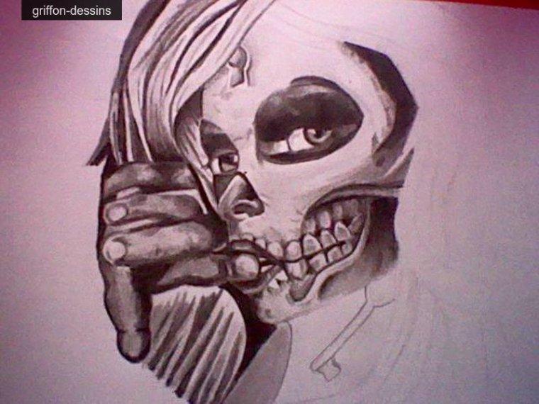 Dessin dead girl