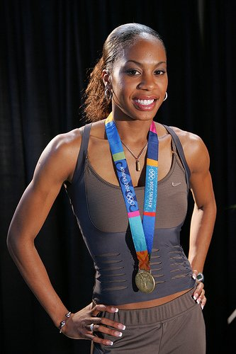 Sanya Richards-Ross (1985)