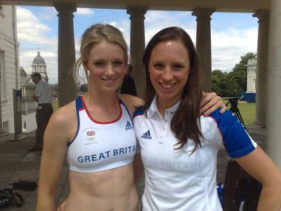Heather Fell (1983) et Kate Livingston (1984)