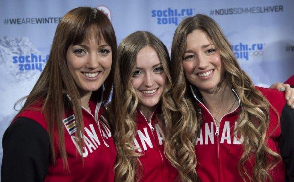 Chloe, Justine et Maxime Dufour-Lapointe