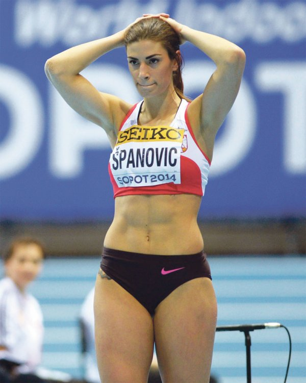 Ivana Spanovic (1990)