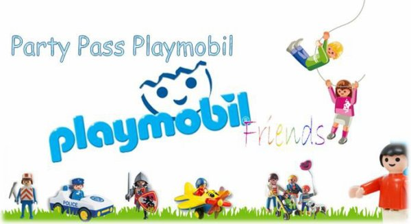 La Ville Playmobil embre du Pass Party Playmobil (PPP) !