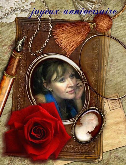Superbe cadeau de ma très chère amie Alexandra - Merci ma belle, je t'embrasse très fort !