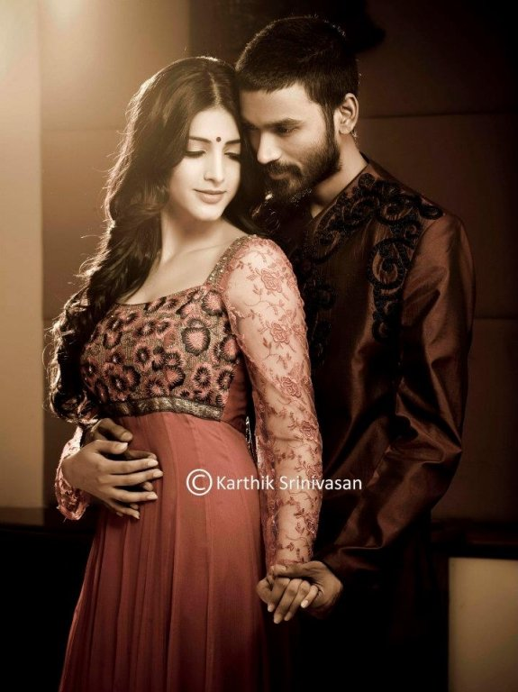 Photoshoot  Dhanush - Shruthi By Karthik Srinivasan