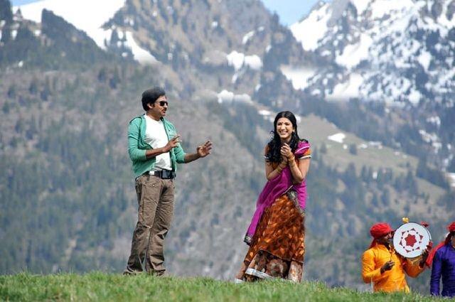 Sur le tournage de Gabbar Singh