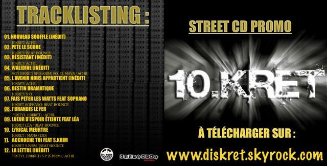 Street CD PROMO 10 KRET