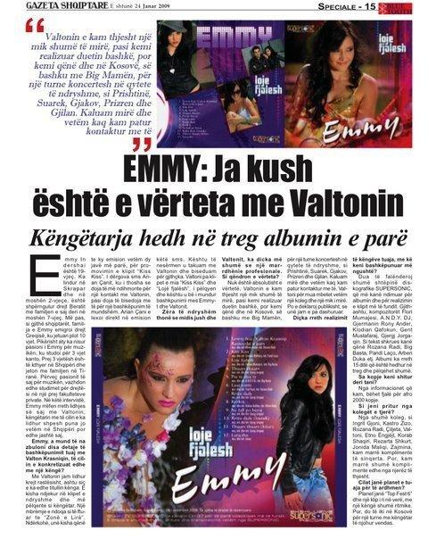 Valton Krasniqi ne gazeta shqiptare