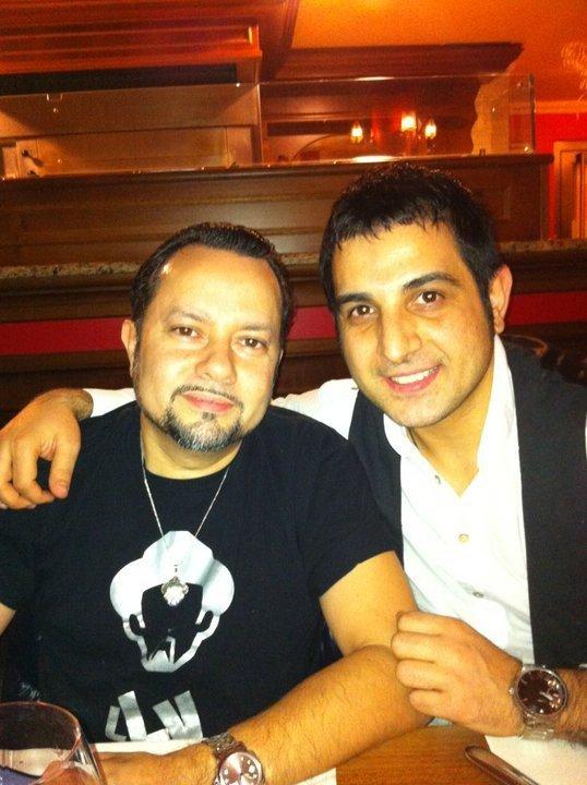 Valton Krasniqi dhe Louie Vega