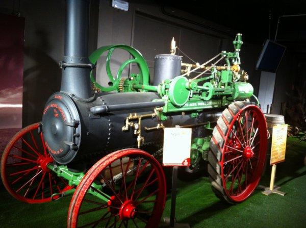 Le premier tracteur si ou peut dire