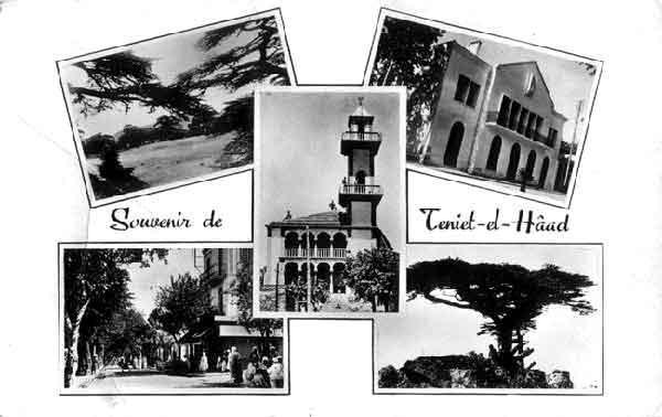 Theniet El Had ... Notre ville perdue.