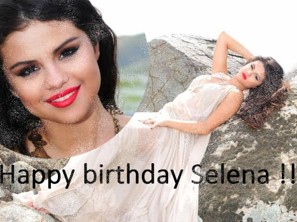 Happy birthday Ma ptite Selena ♥♥