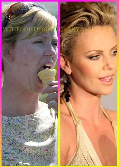 Charlize Theron Stars Sans Maquillage Stars Without