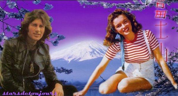 Mike Brant et Marilyn Monroe.