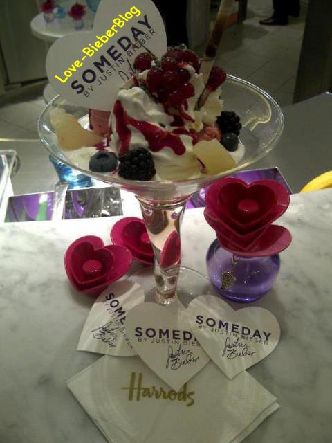 Glace inspirée par Justin Bieber , photo Instagram , en studio ,  Jiley !! ;)