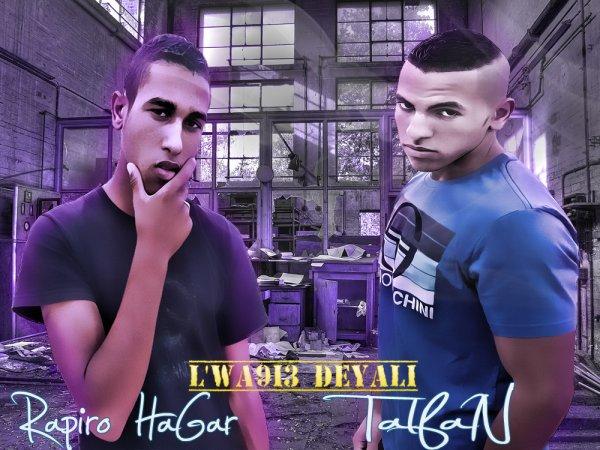Talfan Feat Rapiro Hagar l'wa9ii3 deyali (2012)