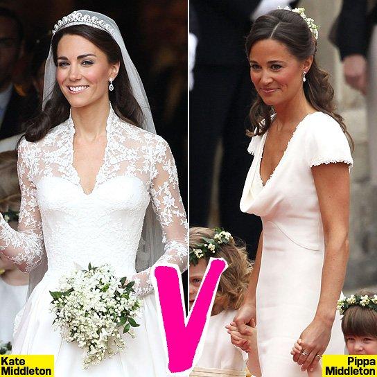 Kate Middleton VS Pippa Middleton