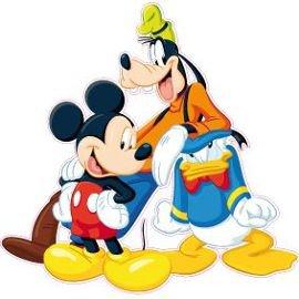 Mickey VS Donald VS Dingo