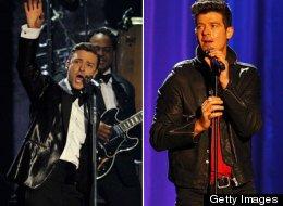 Robin Thicke VS Justin Timberlake