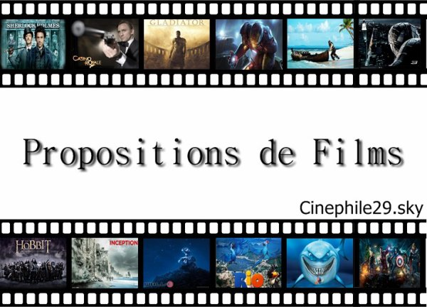 Vos propositions de films