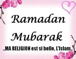 Ramadhan Moubarik :)