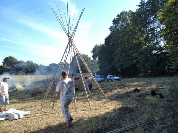 CAMP DE L'AMITIE  (Le Vieux Marché  1 et 2 août 2015)