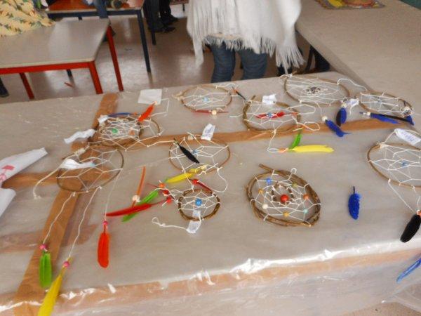 Centre de loisirs PLEUMEUR-BODOU . fabrication d'objets