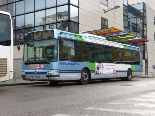 Irisbus Agora S en réserve