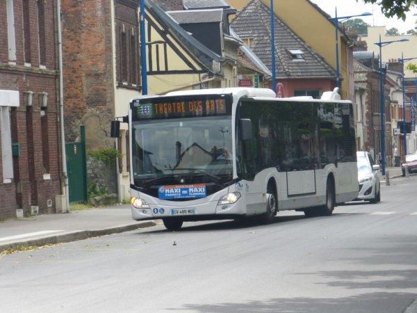 Le Mercedes Citaro C2 TCAR