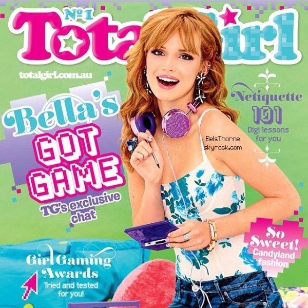 Bella dans le Magazine Total Girl