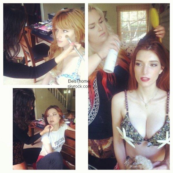 Photoshoot de Bella et ses soeurs pour Project Mermaid