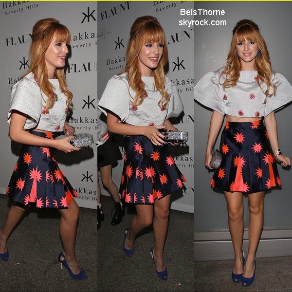 Bella et Dani au Flaunt Magazine Launch Party le 7 novembre 2013.