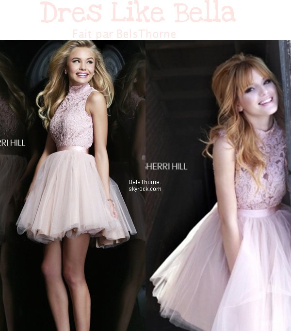 Dress Like Bella Thorne du Phtoshoot pour Sherri Hill.