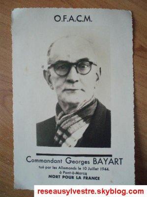 Document en hommage à Mr Georges BAYART !
