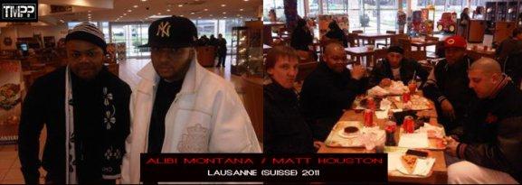 ALIBI MONTANA / MATT HOUSTON A LAUSANNE EN SUISSE (JANVIER 2011)