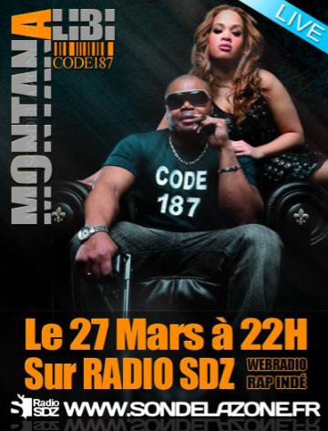 le 27   mars 2011 sur radio SDZ