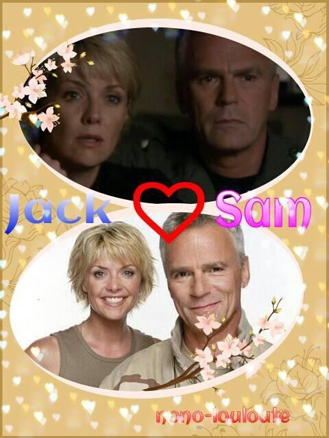 Jack et Sam (STARGATE SG1 )