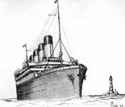 Dessin Du Titanic Blog De Rmstitanic10