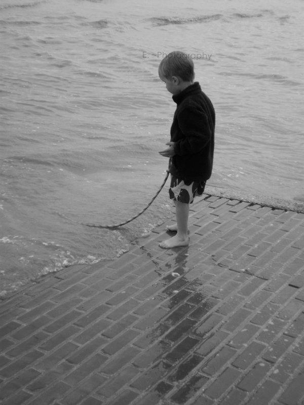 Enfant a la mer