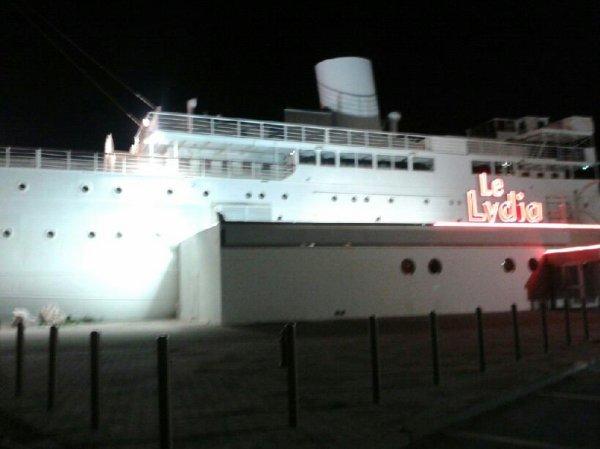 Tro beaux le bateau du  lydia