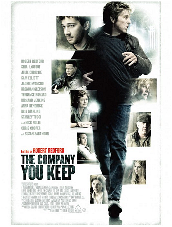 Poster officiel de «You Campany You Keep» prochain film de Shia.