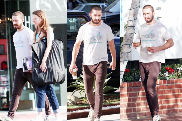 18 Décembre :  Shia Labeouf a été vu allant a ses cours de gym dans Hollywood.
