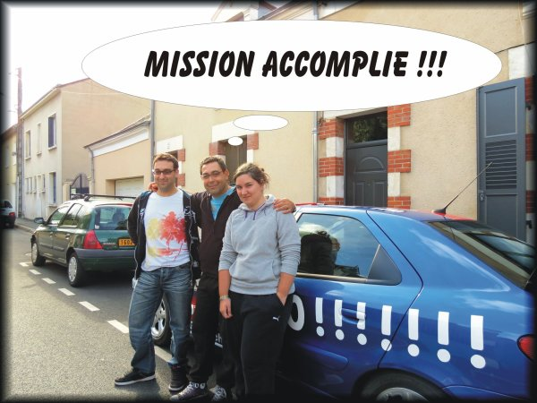 Mission accomplie !!!!