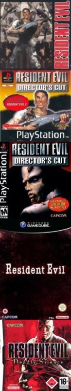 Resident Evil [Playstation, PC CD-rom, Saturn, Game Cube, Nintendo Ds, Wii]
